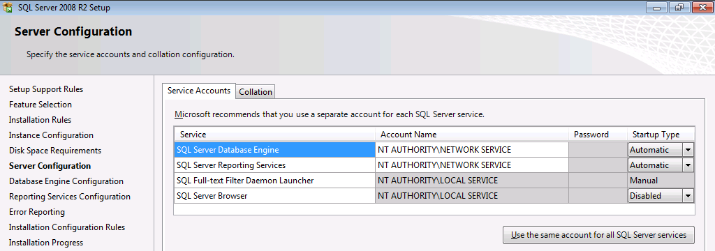 Connectus with G-Scribe Set Up Connectus SQL Server Backend Follow these steps to set up an SQL server backend. You must be logged in locally with a local administrator s domain account.