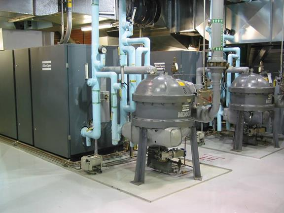 worldwide to be certified The Bromont plant replaced a vacuum system that used air compressors with a central vacuum system.