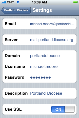 7 iphone Note that because your email password is cached on the