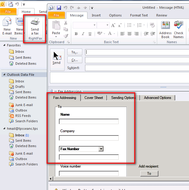 Using RightFax with Office 365 Configuring RightFax for Office 365 Configuring OpenText RightFax to work with Microsoft Office 365 is easy.
