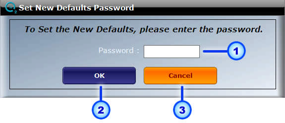 Page: 44 Password OK Cancel Fig. 26: Diagnostics Password Screen You must enter the Password in the Password field. OxySense Support to obtain the Password.