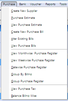 A drop down list will come in column code or Name. Select particular product and press Enter once or twice to get other details of product. Select Unit & Qty.