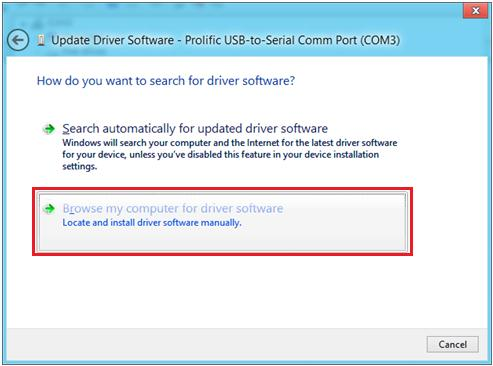 click Update Driver Software 12.