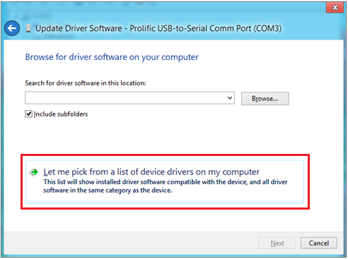 13. Because the old driver has already been installed, you just click the bottom option Let