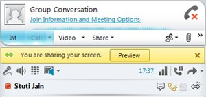 August 2011 MICROSOFT LYNC 2010 Sharing Applications With Microsoft Lync we have enabled you to share applications.