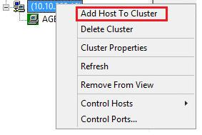 You should now be able to power cycle a clustered IIS host, with automatic failover to another IIS host in the cluster. You also can add additional IIS hosts to the cluster as needed. 2.