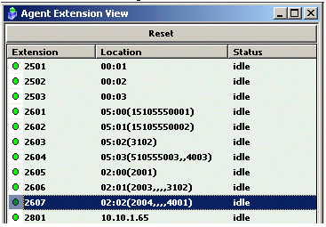 show up in the Boards View in ACM Admin (i.e. MobileExtAnalog or MobileExtDigital). Figure 5. Boards View 4.