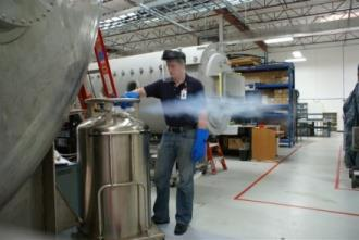 Cryogenic Testing In-house cryogenic testing facilities 8 high lift cryocoolers 6000 gal.