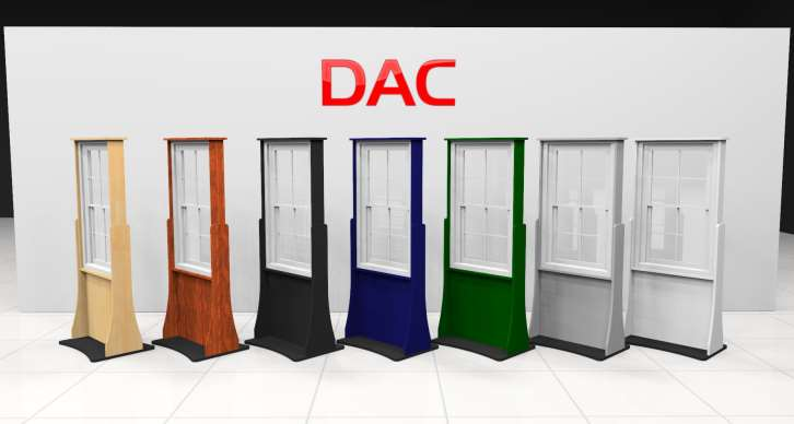 Advantage Series DAC s design team set out to develop a new window display that would be more economical for our customers, without sacrificing quality or functionality.