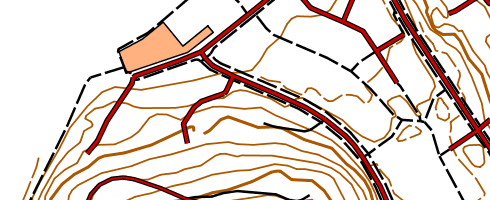 Figure 3d. Basic map raster - another color scheme for background map usage. Figure 3e.