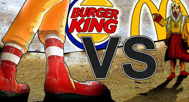 Direct Competition McDonald s and Burger King Fast-food