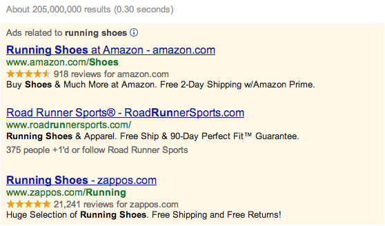The Advantages of Google Shopping PLAs/Google Shopping ads offer you a host of advantages over text ads.