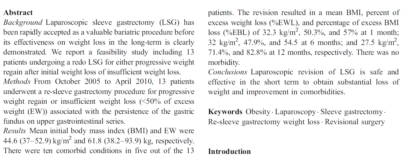 fgfggfgf -13 patients -all had proximal stomach dilation -Mean BMI 44.6 32.