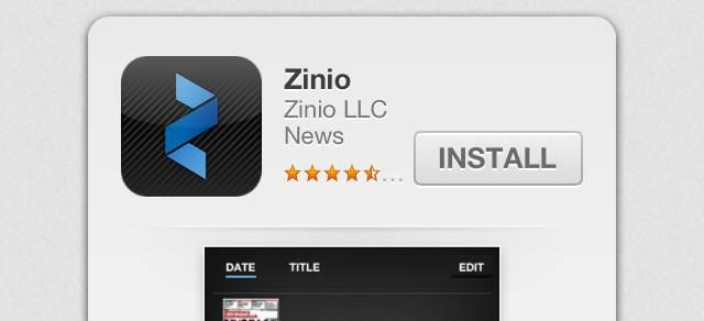 Part 3) How to download Zinio Reader 4 a) For your PC Click on the magazine title and you will see the screen below Click on the above picture Click here to