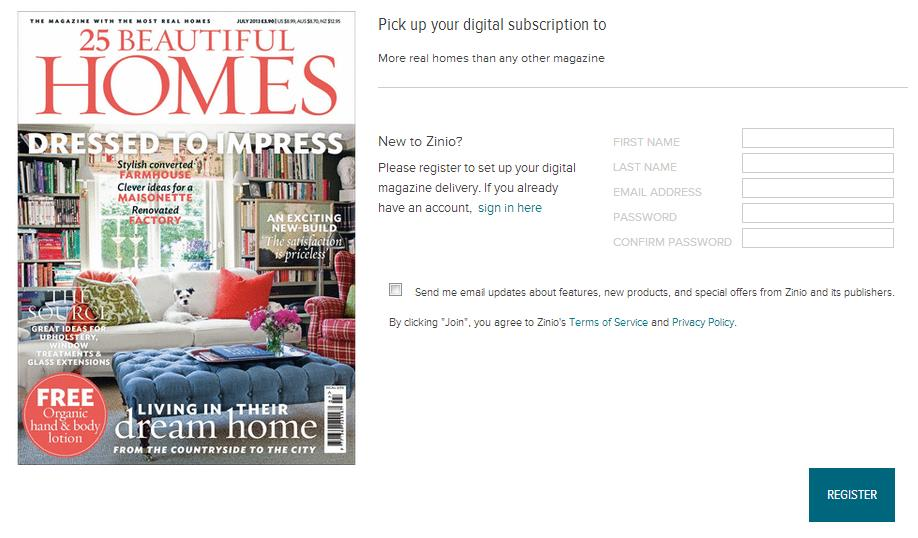 2. Click on the cover of the magazine you would like to checkout 3. A pop-up box will open.