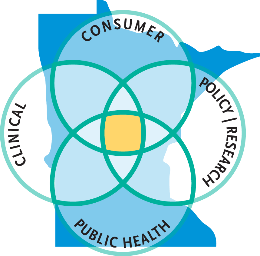 The Minnesota e-health Initiative A public-private collaboration established in 2004 Legislatively chartered Coordinates and recommends statewide policy on e-health Develops and acts on statewide e-
