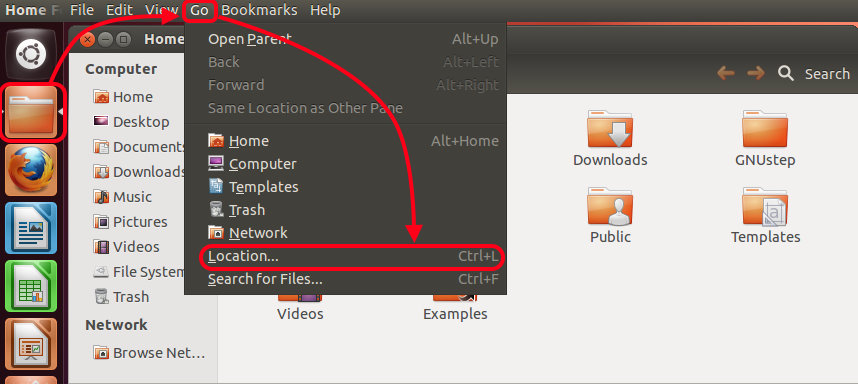 2. Configuring Linux (We will be using Ubuntu 12.04 Desktop as an example) 2.
