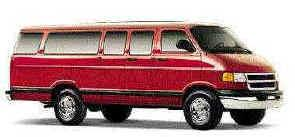 15-Passenger Van Facts A speed that may be acceptable in a passenger car could be dangerous in a van. As the van is loaded with passengers, the center of gravity shifts upward above the wheels.