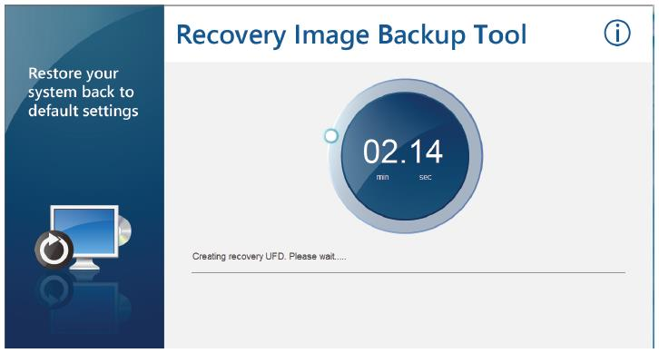 iii. Create a Recovery USB Flash Disk 1.