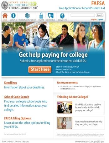 A FAFSA is used to apply for state and federal financial aid programs.