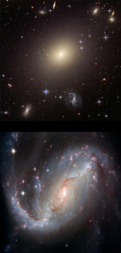 Frequency Colors of Galaxies in Nearby Universe: Multiple
