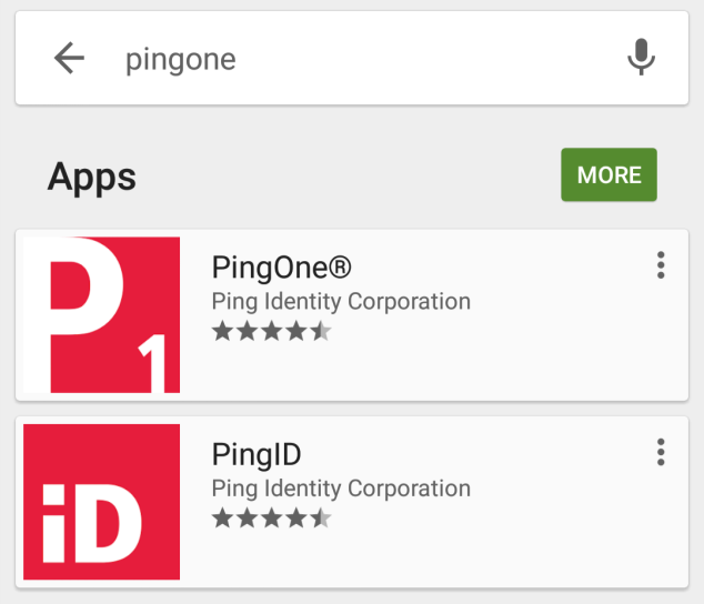 5 PingOne App for Android 5.1 Introduction Use PingOne mobile with your PingOne account for single sign-on (SSO) access to your applications from your Android device.
