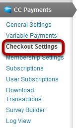 Checkout Settings Look and Feel How to customize the checkout page.