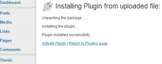 Upload the plugin Navigate through your files until you find the plugin zip file. This is the file that you downloaded after purchase and has a format of authnet-x.y.z.zip where X.Y.