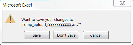 CLICK Yes to replace the existing file which will save it with the same name. Then the dialog box Some features might be lost appears.