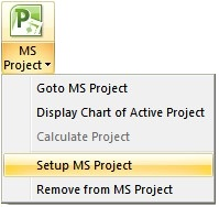 5. You will be asked to configure the version of Project that is open. Click Yes. 6. Switch to MS Project and click Enable Macros when (if) prompted.