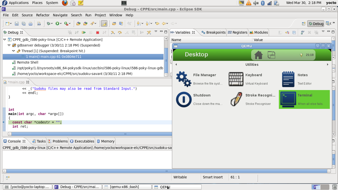 Eclipse IDE for Application