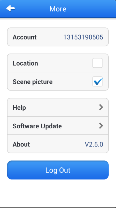 the video is in playback station. Images will be stored at Android and it is easy to be managed by user. 3.5.Video This software can make Android make video recording.
