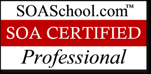 Certifications Each certification represents an area of specialization that relates to a common role on a typical SOA project team.