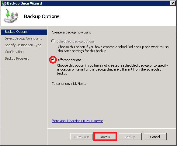 Vess A2000 NVR Storage Appliance Promise Technologies Backup system on RAID disk-windows 2008 Server Follow these steps to backup the Windows system disk to the RAID volume on the Vess A2000. 1.