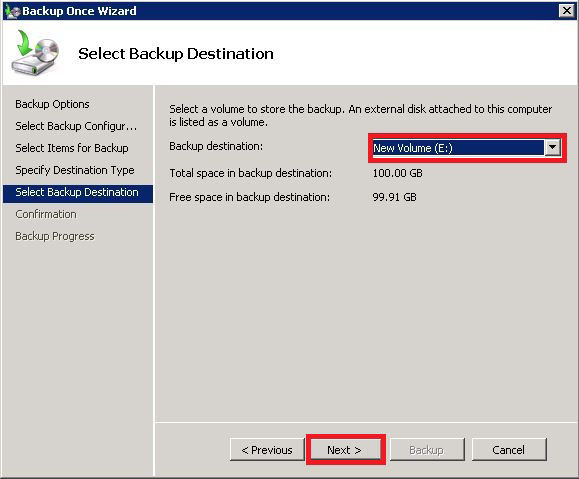 Windows System Recovery Guide 8. Select Local drives and click Next>. 9.