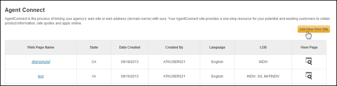 Create Agent Connect Link Log in to your Producer Toolbox and click the Agent Connect tab on the home page.