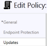 Description Action 16. Click on Microsoft Intune Agent Settings 17. Click Create Policy 18.