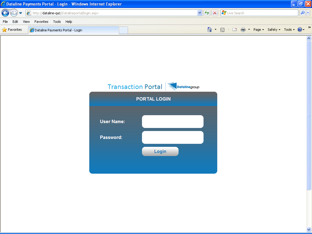 Portal Login Used To: View Invoices Manage Exceptions Match