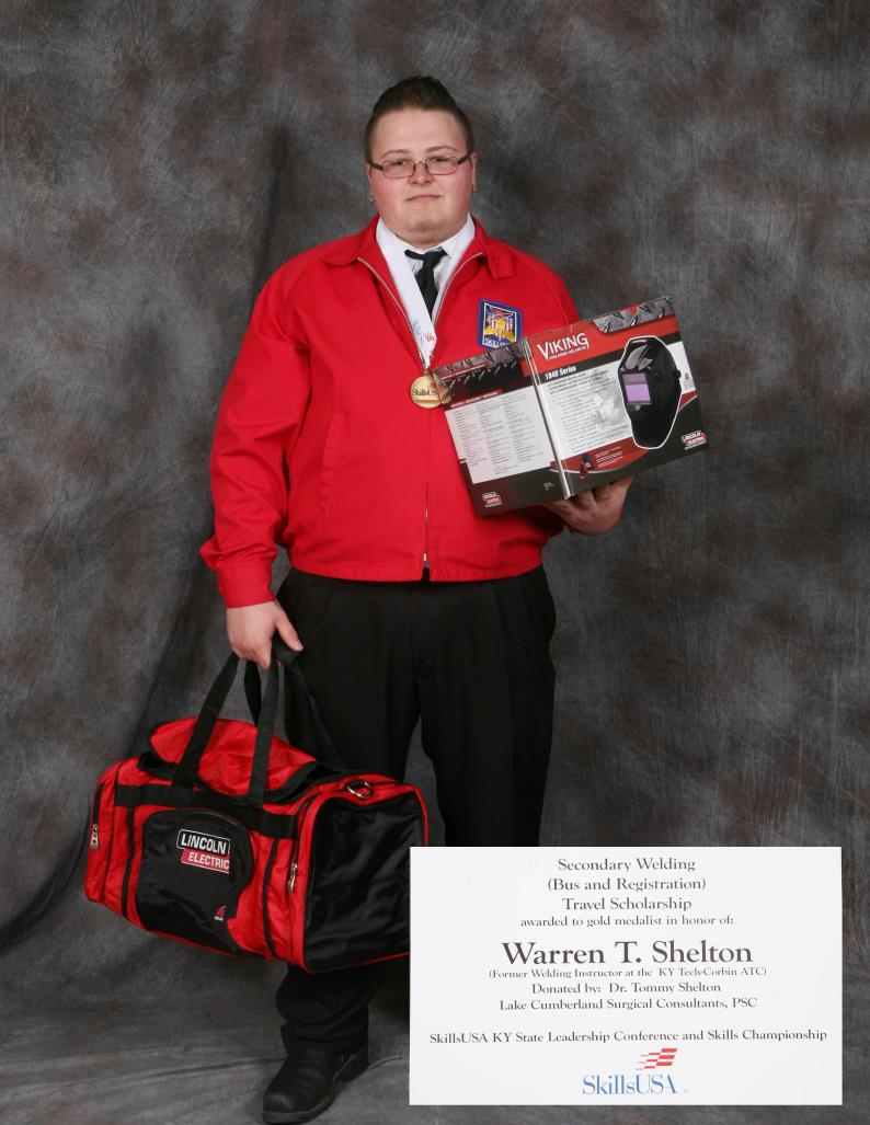 Without you, things like our SkillsUSA State Conference could not happen. Thank you to Mr. Warren Shelton and his son, Dr.