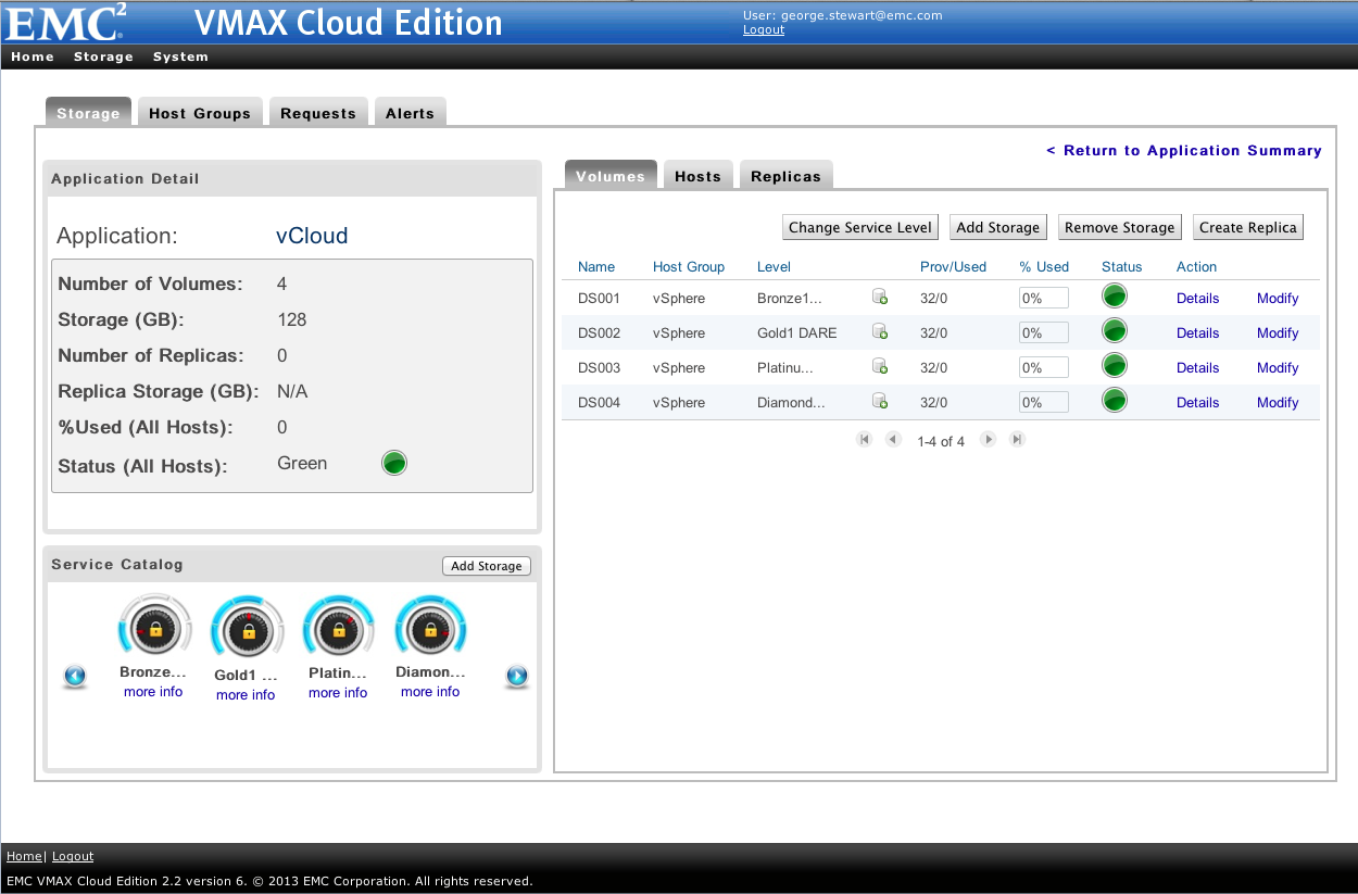 Technology overview VMAX Cloud Edition VMAX Cloud Edition enables cloud providers to automate storage provisioning to host private and public clouds as well as legacy applications in a physical