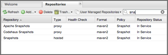 Repository Management with Nexus 67 / 405 Figure 5.