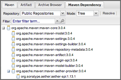 Repository Management with Nexus 75 / 405 group. In many cases it will make sense to select the same repository group you are referencing in your Maven settings.