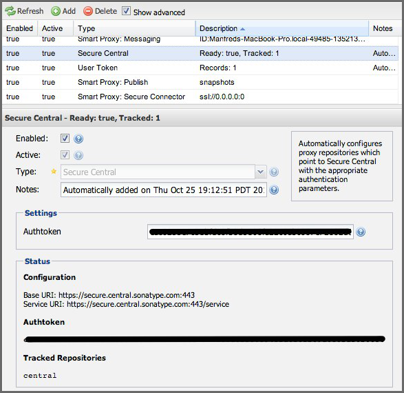 Repository Management with Nexus 113 / 405 Figure 6.