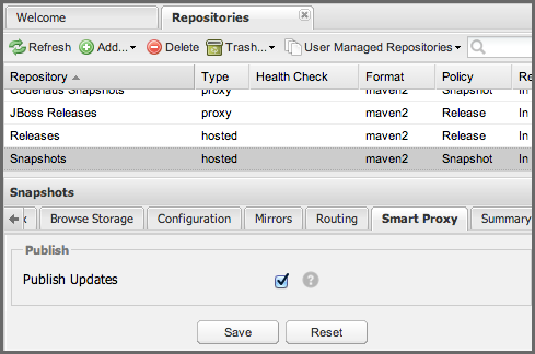 Repository Management with Nexus 162 / 405 7.