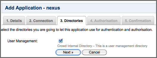 Repository Management with Nexus 194 / 405 Clicking on Next will advance the form to the Connection tab shown in Figure 9.2.