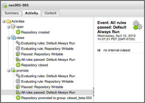 Repository Management with Nexus 259 / 405 Figure 11.