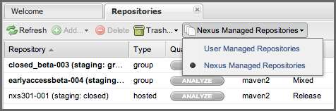 Repository Management with Nexus 261 / 405 as if they were published to a Hosted repository.