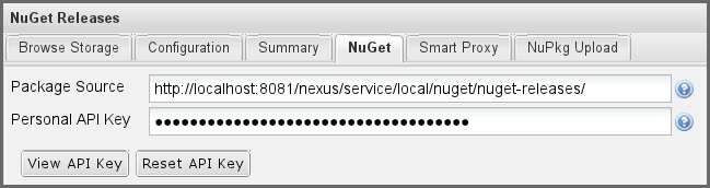 Repository Management with Nexus 317 / 405 Replace localhost with the public hostname or url of your Nexus server and nuget-public with the name of the repository you want to proxy.
