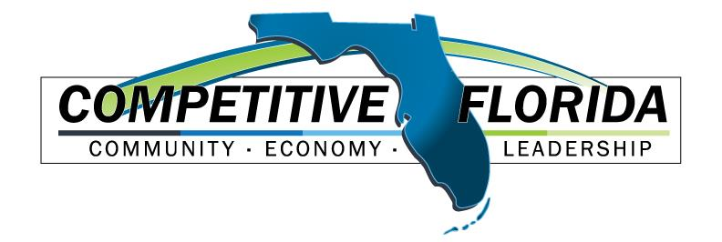 COMPETITIVE FLORIDA Communities that take action to build and enhance their local economy while staying true to what makes them unique have a competitive advantage.