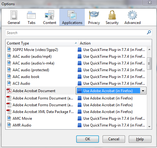 On Windows Internet Explorer 7, 8 and 9 Page 68 3/06/2014 blanc The steps to enable the Adobe PDF plug-in vary depending on your version of Internet Explorer. Select Tools and click on Manage Add-ons.